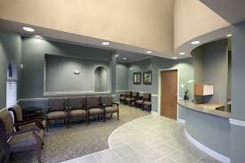 office reception area i would paint the walls another color but