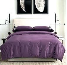 Plum Duvet Cover Set Bold Floral Bedding Quilt Set Luxury Poly Cotton Duvet Cover Set