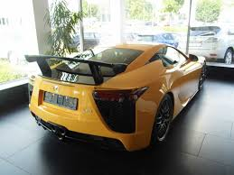 lexus lfa crash rare u0027nurburgring edition u0027 lexus lf a for sale