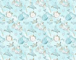 cinderella wrapping paper knitted princess etsy
