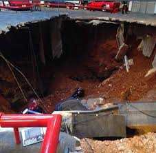 corvette museum collapse sinkhole opens at national corvette museum in kentucky damaging