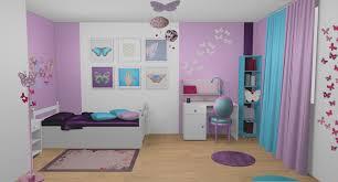 chambre fille bleu tendance chambre fille bleu et violet ides de galerie dimages