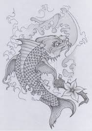 japanese koi dragon tattoo skull samurai pt 2 by