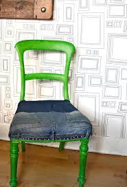 skruvsta swivel chair ikea hack skruvsta denim chair upcycle pillar box blue