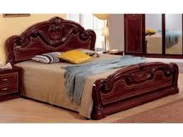 Mahogany Bed Frame Mcs Gioia Mahogany Bed Frame Bedsdirectuk Net