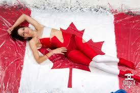 canada flag body painting marcdoiron ca