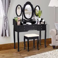 Vanity And Stool Set Aliexpress Com Buy Langria Makeup Dressing Table Vanity And