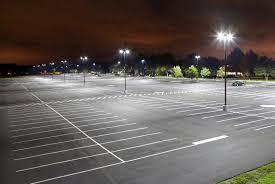 led parking lot lights vs metal halide dumalux