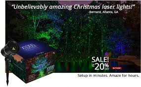 laser lights outdoor decor decorations