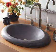 native trails stone bathroom sinks wave plumbing