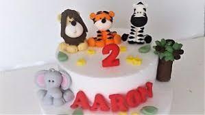 jungle cake decorations ebay