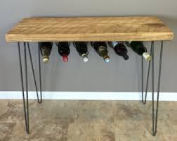 Wine Bar Table Wine Rack Table Etsy
