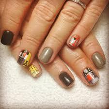 new york nail art on top of hard gel nails by cnd brisa yelp
