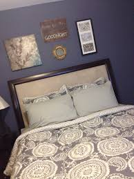 master bedroom purple slate inspiration glidden paint in stormy