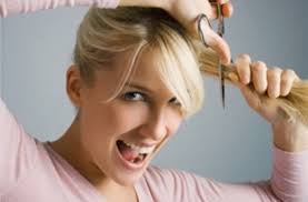 ponytail haircut technique how to cut layers into your hair at home women hairstyles