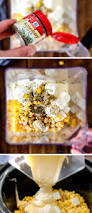thanksgiving recipes corn slow cooker creamed corn with ricotta rosemary and bacon