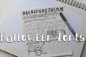 scary handwriting fonts horror fonts halloween crafts ideas