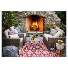 Threshold Indoor Outdoor Rug Outdoor Rug Blue Ikat Threshold Blue Outdoor Rug Outdoor