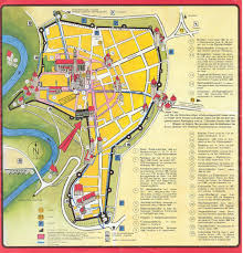 Germany City Map by Rothenburg Tourist Map Rothenburg Germany U2022 Mappery