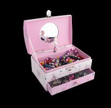 Children S Jewelry Musical Children U0027s Jewelry Box With Jewelry Stock Photo Image