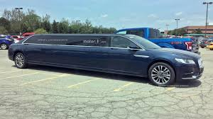 lincoln continental extra long lincoln continental limo spied