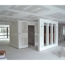 wall partition fibre gypsum partition wall application decoration and office