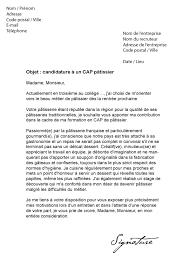 lettre de motivation cap cuisine 8 lettre de motivation patisserie format lettre lettre de motivation