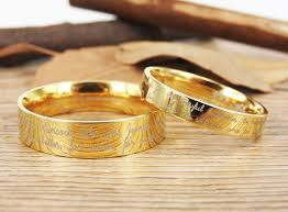 marriage rings images Handmade your marriage vow signature rings wedding rings gold match jpg