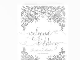wedding program cover wedding program booklet diy editable ms word template lace