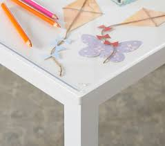 acrylic desk mat custom size acrylic surface mat pottery barn kids
