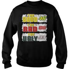 Good Bad Ugly The Good 46 The Bad 99 The Ugly 93 Shirt