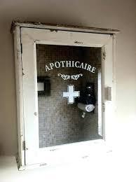 vintage metal medicine cabinet antique recessed medicine cabinet the cabinet lighted great recessed