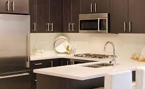Quartz Countertops With Backsplash - dark cabinets white quartz countertops cute charming landscape on