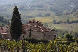 tuscan country house near san gimignano stock photo picture and
