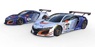 here u0027s how the acura nsx gt3 race cars will look this season