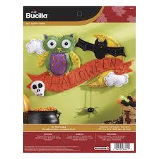 bucilla seasonal felt home decor door wall hanging kits