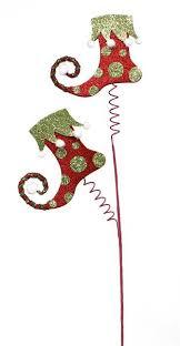 christmas picks legs floral picks wreath picks christmas decor