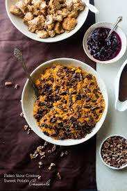 paleo sweet potato casserole in the cooker food faith fitness