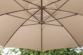 11 Cantilever Patio Umbrella With Base by 11ft Cantilever Umbrella U2013 Full Unit U2013 Proshade