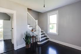 Gray Walls With White Trim by Hardwood Floors With White Trim Titandish Decoration