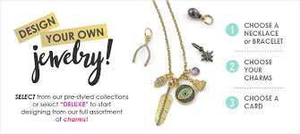 Design Your Own Necklace Design Your Own Personalized Charm Jewelry Wildflower Co