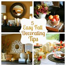 echoes of laughter 5 easy fall decorating tips holidays