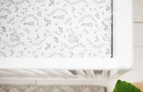 woodland muslin crib sheet muslin crib sheets bunny crib sheet