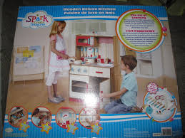 Deluxe Kitchen Play Set by Find More Bnib Sparks Wooden Deluxe Kitchen 80 00 For Sale At Up
