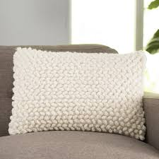 langley siegel wool lumbar pillow reviews wayfair