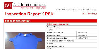 inspection u0026 audit sample reports asiainspection