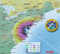 Map Of Virginia Beach Launch Viewing Map U2013 First Sight Nasa