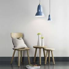 Blue Pendant Light by Original 1227 Brass Maxi Pendant Light By Anglepoise Ylighting