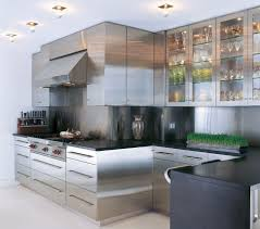 kitchen cabinet corner kitchen shape with stainless steel