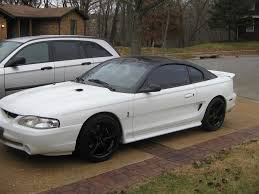 White Mustang Black Wheels Sn95 Wheel Picture Thread Page 17 Ford Mustang Forums Corral